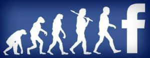 The evolution of Facebook.
