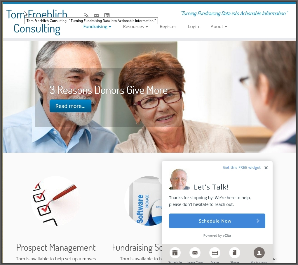 Tom Froehlich Consulting